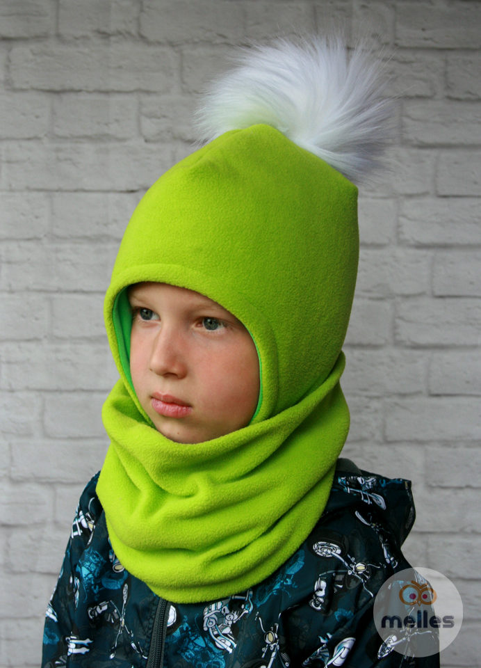 Комплект зима шапка со снудом
